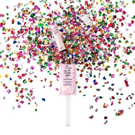 JE NE SAIS QUOI LIP TREATMENT CONFETTI POPPER