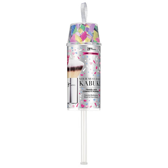 KABUKI BRUSH TRAVEL SIZE CONFETTI POPPER