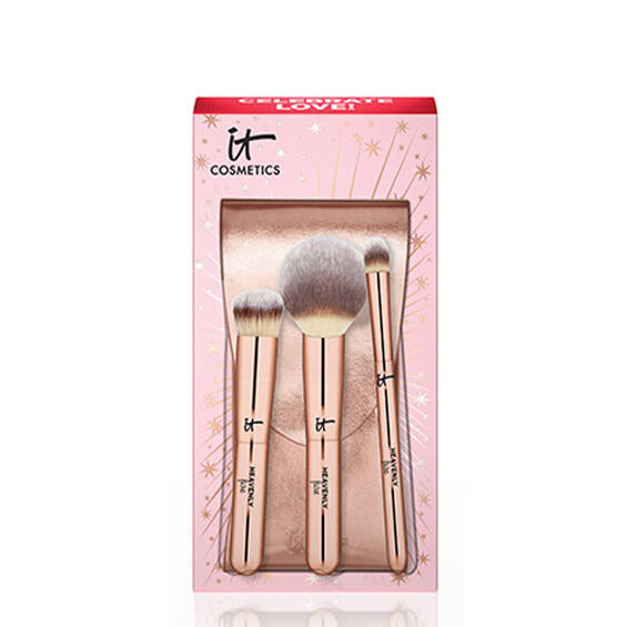 Celebrate Your Heavenly Luxe On-The-Go Pinsel Set